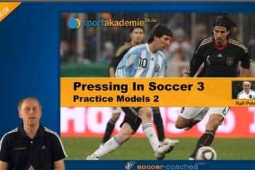 Pressing in Soccer - Practice Models 2