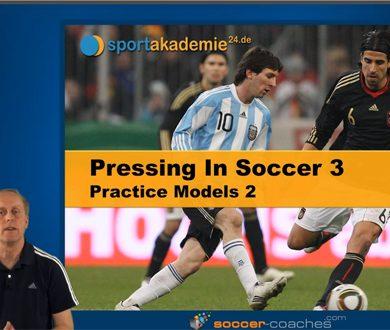 Pressing in Soccer - Practice Models 2