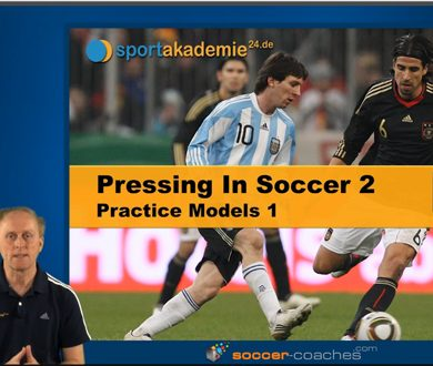 Pressing in Soccer - Pratice Model 1