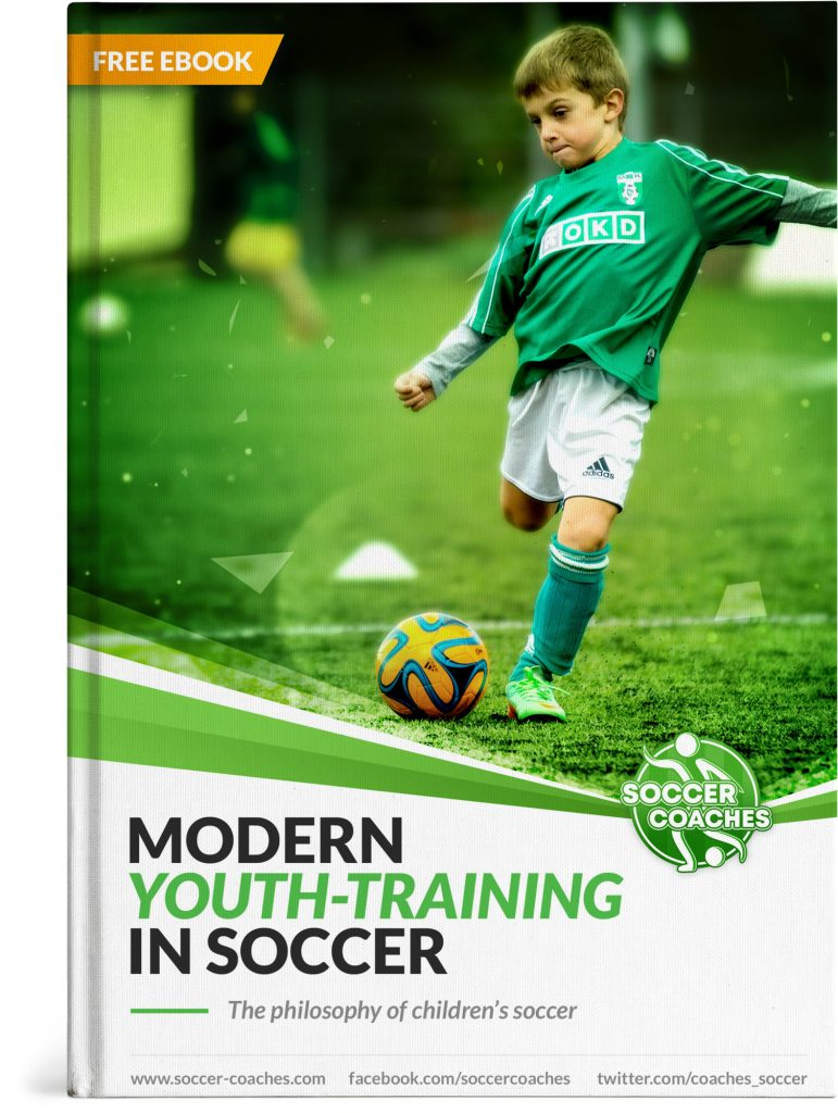 Modern Youth Training Soccer