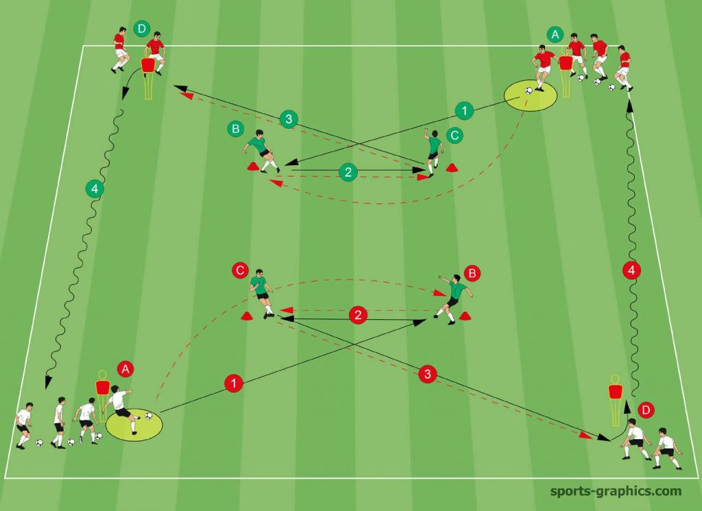 Soccer Double Square